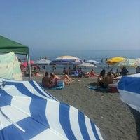 Photo taken at Playa de Calabajío by Alicia F. on 6/16/2013