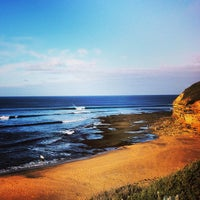 Photo taken at Bells Beach by Qimp B. on 6/30/2013
