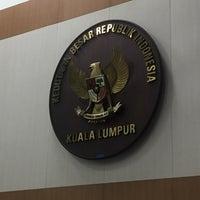 Photo taken at Kedutaan Besar Republik Indonesia by Mohd S. on 12/29/2015