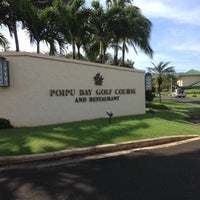 Photo taken at Poipu Bay Golf Course by Deanna S. on 4/16/2013