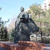 Photo taken at памятник чуйкову by Ярослав М. on 4/18/2014