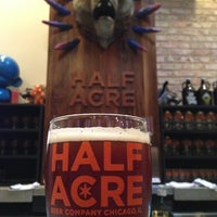 Photo taken at Half Acre Beer Company by Patrick S. on 1/18/2013