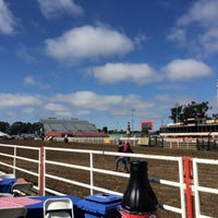 Photo taken at California Rodeo Salinas by Stephanie H. on 7/18/2014
