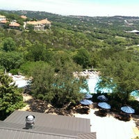 Photo taken at Barton Creek Resort & Spa by Bfloss N. on 5/10/2013