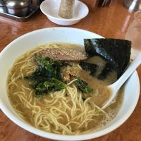 Photo taken at 横浜ラーメン味濱家 by 一茂 前. on 7/23/2018
