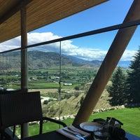 Photo taken at Miradoro Restaurant at Tinhorn Creek Vineyard by Alessa H. on 6/19/2016