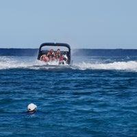 Photo taken at Playa Xcaret by Josue A. on 4/11/2013
