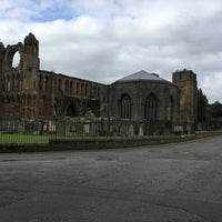 Photo taken at Elgin Cathedral by Nico C. on 8/20/2017