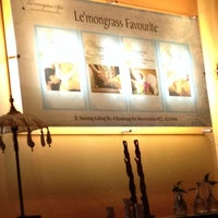 Photo taken at Le'mongrass Spa by Satria K. on 11/23/2013