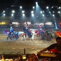 Photo taken at Medieval Times Dinner & Tournament by Megu K. on 10/8/2012