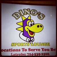 Photo taken at Dino's Sports Lounge by Jessica C. on 3/16/2013