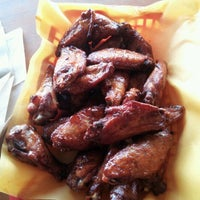 Photo taken at Moe's Original BBQ by Tina T. on 9/21/2012
