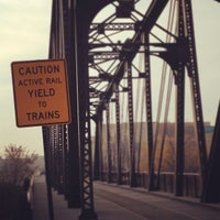 Photo taken at North Ave. Bridge by Eric R. on 11/20/2012