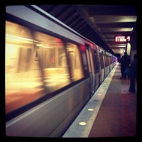Photo taken at West Falls Church-VT/UVA Metro Station by Eric R. on 11/21/2012