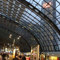 Photo taken at Berlin Central Station by Rudolf J. on 2/13/2013