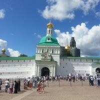 Photo taken at The Holy Trinity-St. Sergius Lavra by Георгий С. on 7/18/2013