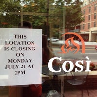 Photo taken at Cosi by Rob K. on 7/19/2014