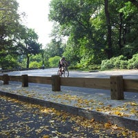 Photo taken at Central Park - 86th St Transverse by Andrea M. on 10/4/2013