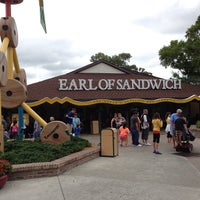Photo taken at Earl of Sandwich by Braulio B. on 4/5/2013