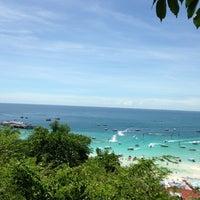 Photo taken at Jomtien Beach by ณัฐพล ห. on 6/15/2013
