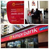 Photo taken at Kaspi Bank by eKaraganda K. on 5/24/2013