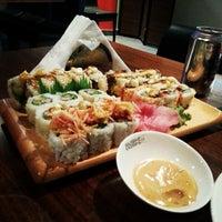 Photo taken at Sushi Yoshi by Turki A. on 7/7/2013