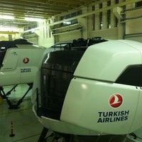 11/20/2012 tarihinde Uğur D.ziyaretçi tarafından Türk Hava Yolları Uçuş Eğitim Başkanlığı'de çekilen fotoğraf