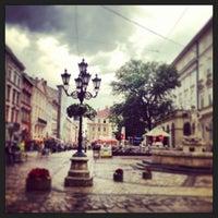 Снимок сделан в Площадь Рынок пользователем Любовь К. 6/6/2013