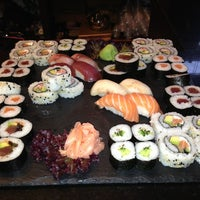 Photo taken at Sensations Sushi Marbella by Lisa N. on 5/29/2013
