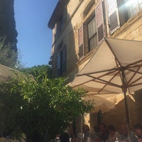 Photo taken at La Colombe d'Or by Grace T. on 9/30/2016