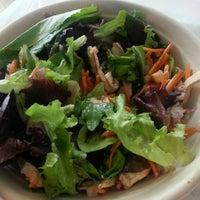 Photo taken at Fresh Sprigs Salads by Michelle K. on 5/27/2014