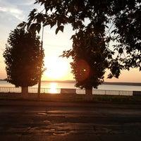 Photo taken at Набережная Воткинского пруда by Ketti K. on 7/17/2013