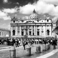 Photo taken at Saint Peter's Square by Pavel K. on 5/24/2013