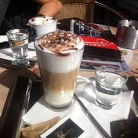 Photo taken at Cafe & Cocktail bar Terassa by Barbora J. on 6/7/2013