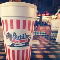 Photo taken at Portillo's by Vanesa R. on 4/28/2013