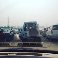 Photo taken at Gurgaon Toll Plaza by Kinshuk D. on 11/6/2015