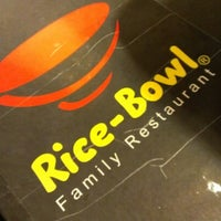 Photo taken at Rice-Bowl Family Restaurant by David K. on 12/15/2012