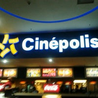 Photo taken at Cinépolis Multiplaza by Christopher A. on 11/15/2012