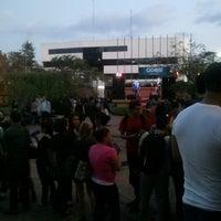Photo taken at Plaza La Misión (ULACIT) by Javier C. on 4/1/2014