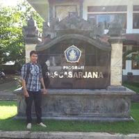 Photo taken at Kampus Tengah Undiksha by widia a. on 2/4/2013