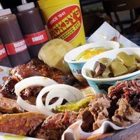 Photo taken at Dickey's Barbecue Pit by Eric M. on 4/8/2013