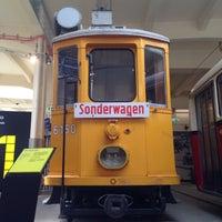 Photo taken at Remise – Verkehrsmuseum der Wiener Linien by Irina K. on 5/31/2015