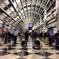 Photo taken at Chicago O'Hare International Airport (ORD) by Roly B. on 11/16/2013