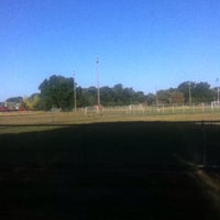 Photo taken at Gunnel Oval by Manolo C. on 9/7/2015