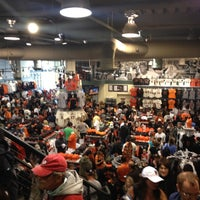 Photo taken at Giants Dugout Store by Bradley on 8/25/2012