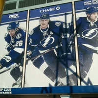 Photo taken at Ford Thunder Alley - West Plaza, Tampa Bay Times Forum by Russell W. on 10/12/2013