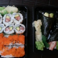 Photo taken at Sushi Me by Katerina on 7/4/2013