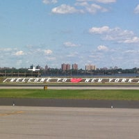 Photo taken at LaGuardia Airport (LGA) by Paulinexs on 8/15/2013