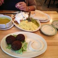 Photo taken at Jerusalem Garden by Amogh U. on 9/17/2013