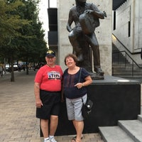 Photo taken at Willie Nelson Statue by Shay T. on 9/24/2016